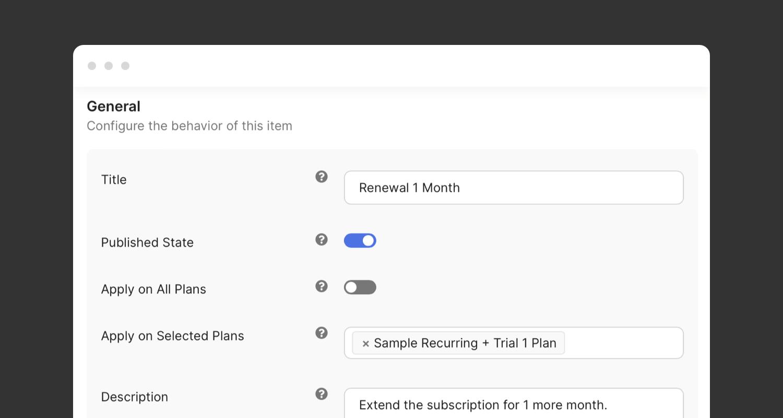 PayPlans Plan Renewals Screenshot