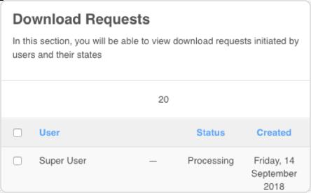 PayPlans GDPR Download Request