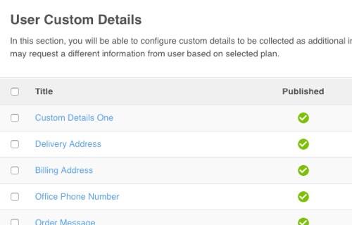 PayPlans Custom Details