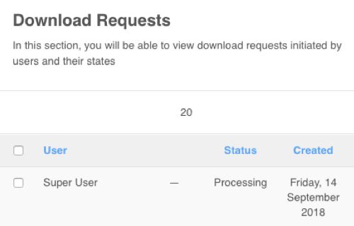 PayPlans Download Data Request